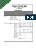 Cronograma Fase Planeacion