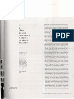 texto arquitetura moderna