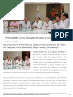 04-08-2018 Revisa Astudillo avances del proyecto de rescate en zona turística de Acapulco.