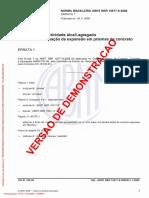 Agregados - Reatividade Álcali-Agregado - Parte 6 - Determinação Da Expansão Em Prismas de Concreto(Full Permission)