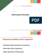 interconnect parasitics