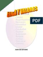 Guia Etica Valores