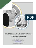 Company Profil Dan Surat Penawaran