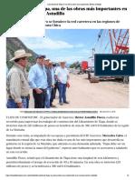 05-08-2018 Libramiento de Tlapa es una de las obras más importantes.