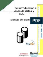 Iniciación a las Bases de Datos y SQL