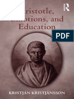 Aristotle - Emotions and Education