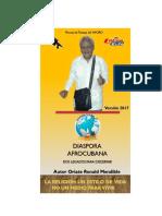 Libro Diaspora Afrocubana o Tradicional