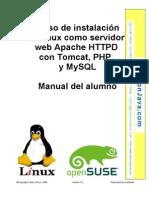 Linux como servidor web con Tomcat, PHP, y MySQL