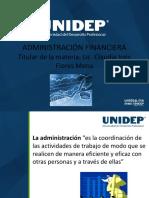 INTRODUCCION ADMINISTRACION FINANCIERA