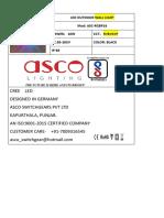 ASCO LED LIGHTING CATALOGUE