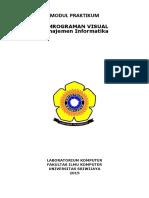 Modul Pemrograman Visual Mi