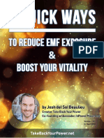 5 Quick Ways to Reduce EMF Exposure and Boost Your Vitality
