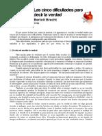 Las cinco dificultades para decir la verdad.pdf