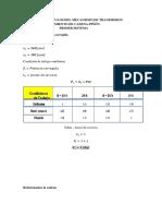 Calculo de Transmisiones Piñon y Catalina Dom 16