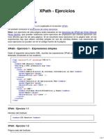 Ejercicios. XPath. XML. Bartolomé Sintes Marco