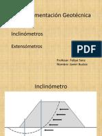 Instrumentación Geotécnica
