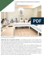 16-08-2018  Encabeza Héctor Astudillo mesa de trabajo para garantizar un regreso a clases ordenado en Guerrero.