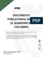 Documento Poblacional Sobre El Barrismo en Colombia