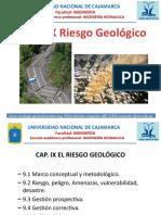 CAP.ix Riesgo Geologico