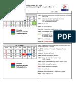 Calendário Escolar ILV 2018