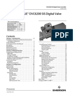 Fisher™ FIELDVUE™ DVC6200 SIS Digital Valve Controller