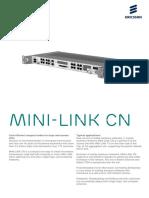 Minilink CN R2 Spesifications