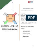 Primera Ley Termodinamica Bases y Fundamentos