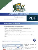 II Jornadas - Organizar Gmail