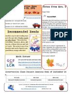 4 newsletter 9-24-18