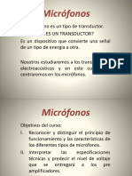 Microfonos Clase 1