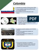 Infografía sobre Colombia
