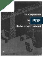Scienza Delle Costruzioni - Capurso - Pitagora Editrice Bologna