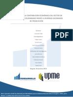 Documento Regalias - Evaluacion de La Contribucion Economica Del Sector de HC