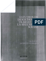 Estudios de Derecho Del Trabajo y de La Seguridad Social