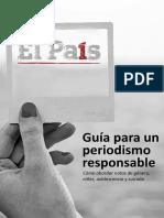 Guía Para Un Periodismo Responsable - El País