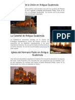 3 Lugares Turisticos de Antigua Guatemala