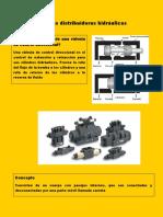 Válvulas distribuidoras hidráulicas