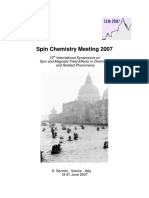 Spin Chemistry Meeting 2007