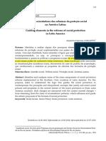 Elementos orientadores das reformas da proteção social na América Latina