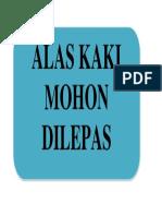 Perintah Alas Kaki
