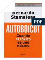 Libro Autoboicot Bernardo Stamateas