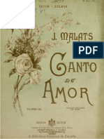 Canto de Amor (Musica Colonial)