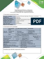 Guía para el desarrollo del componente práctico Paso 4 y 6.