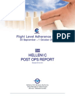 Flight Level Adherence Days Report for Greece (LGGG) Released