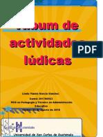 Álbum de Actividades Lúdicas Linda