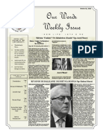 Newsletter Volume 9 Issue 32