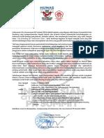 Konfirmasi Indonesian City Government PR Summit 2018 (Mahasiswa)