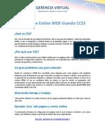 1 Introducción CSS