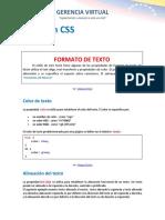 9 Texto en CSS