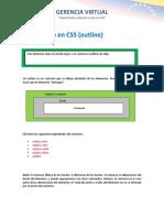 8 Contornos en CSS